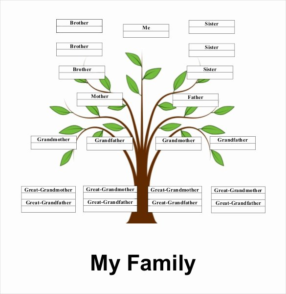 Simple Family Tree Template 27 Free Word Excel Pdf