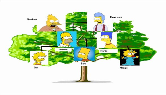 Simple Family Tree Template – 8 Free Sample Example