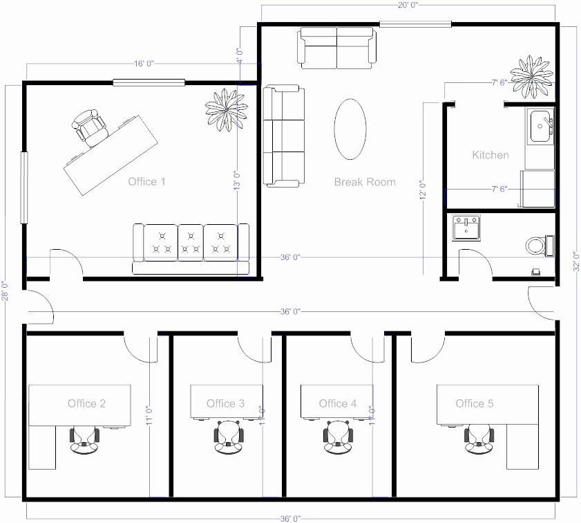 Simple Floor Plans Free Fice Layout software with