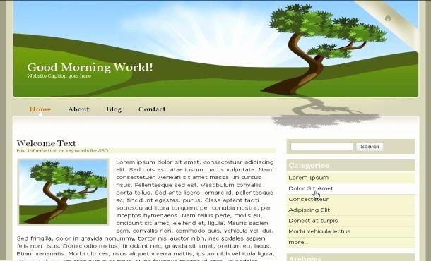 Simple HTML Website Templates Beepmunk