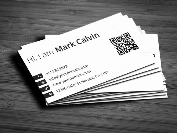 Simple Individual Business Card V2 Business Card