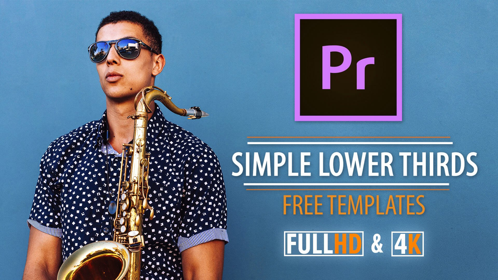 Simple Lower Thirds Templates for Premiere Pro