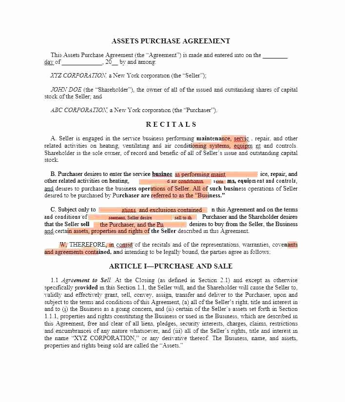 Simple Purchase Contract Template – Waldpaedagogikfo