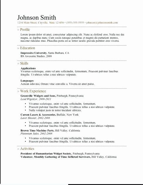 Simple Resume Maker – Gyomorgyurufo