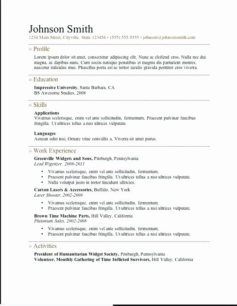 Simple Resume Maker – Gyomorgyurufo