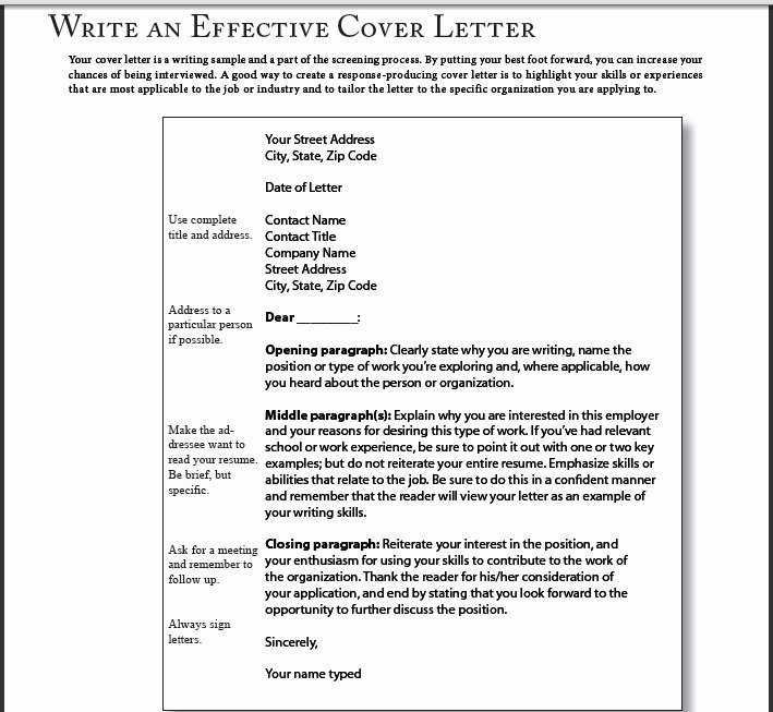 Simple Way to Write A Very Good Cover Letter Jobs
