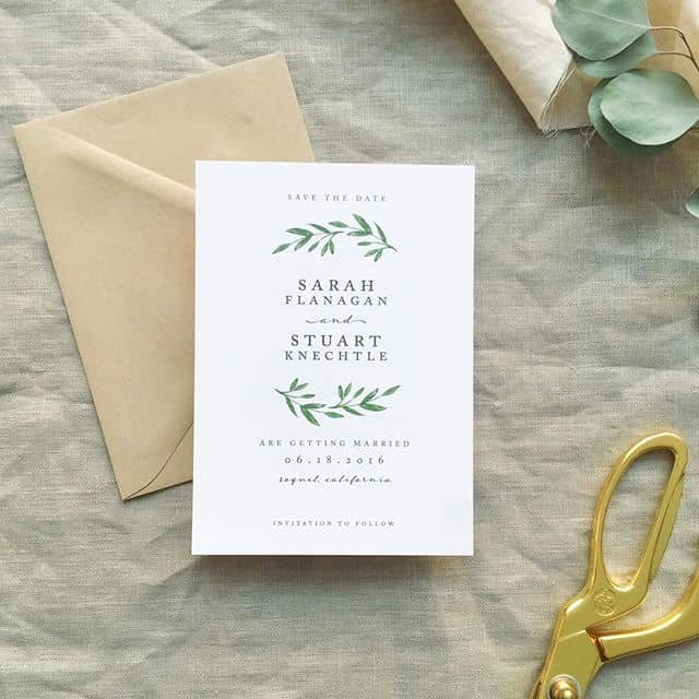 Simple Wedding Invitations Best Photos Page 2 Of 4