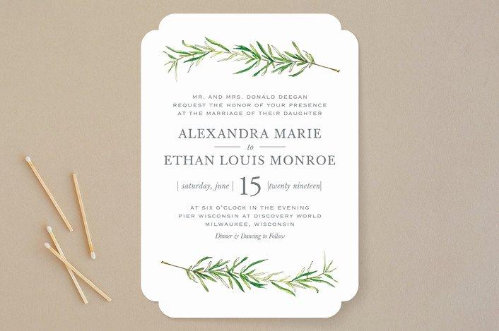 Simple Wedding Invitations Simple Wedding Invitations for