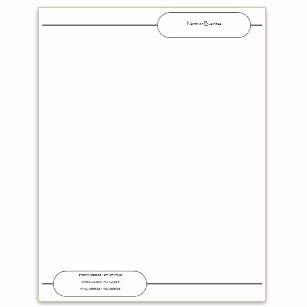 Six Free Letterhead Templates for Microsoft Word Business