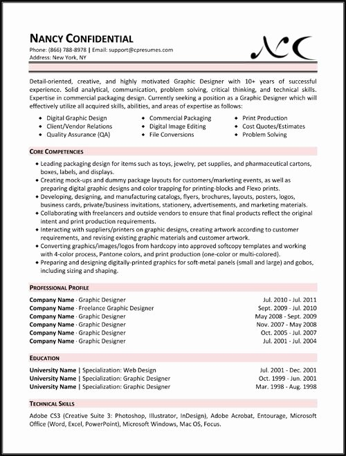 Skill Set Resume Template Best Resume Gallery