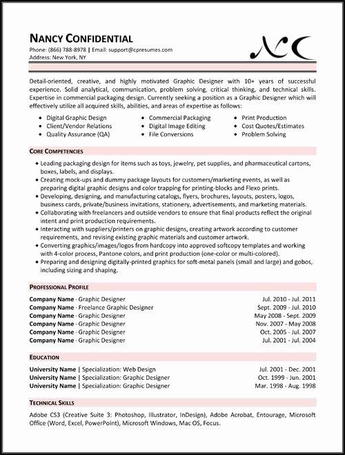 Skill Set Resume Template Best Resume Gallery