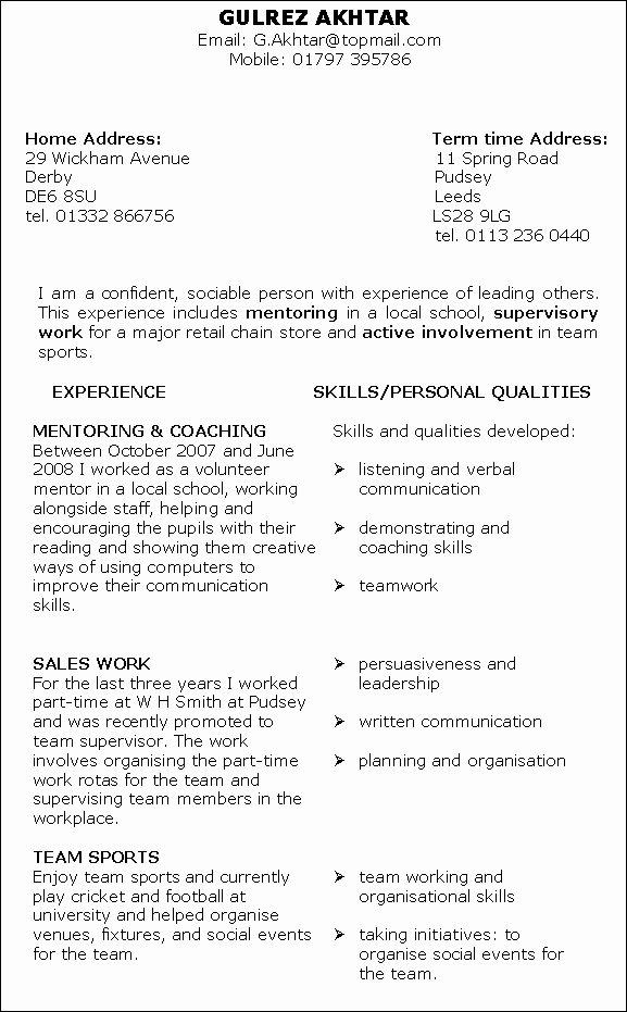 Skills Based Resume Templates Best Resume Gallery