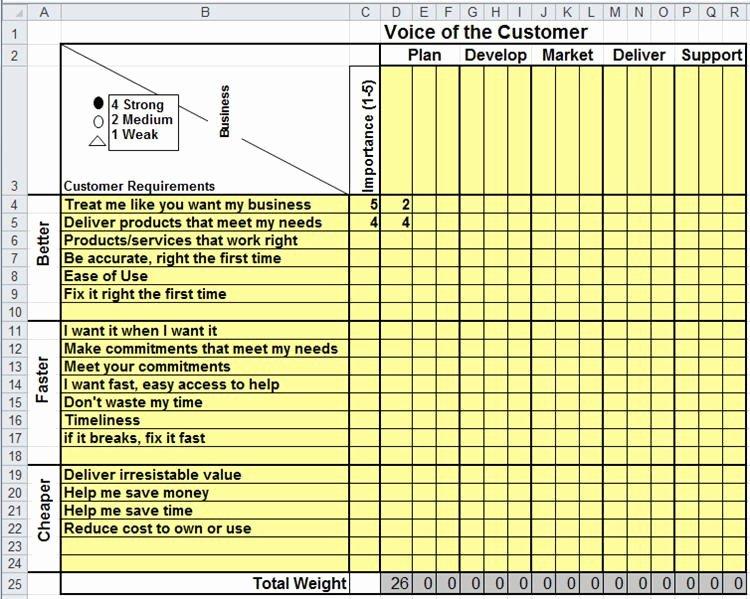 Skills Matrix Template Excel