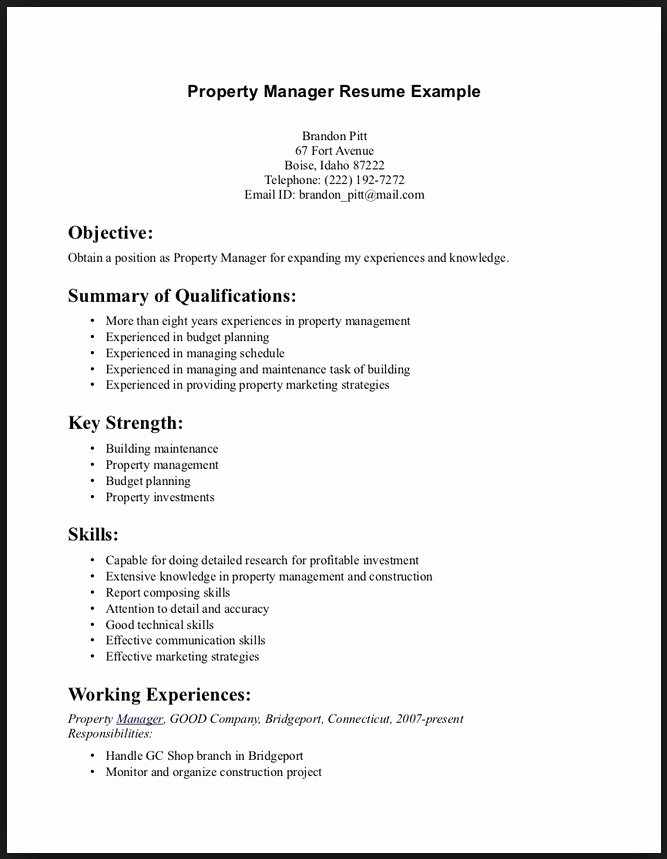 Skills to Put In A Resume Best Resume Gallery