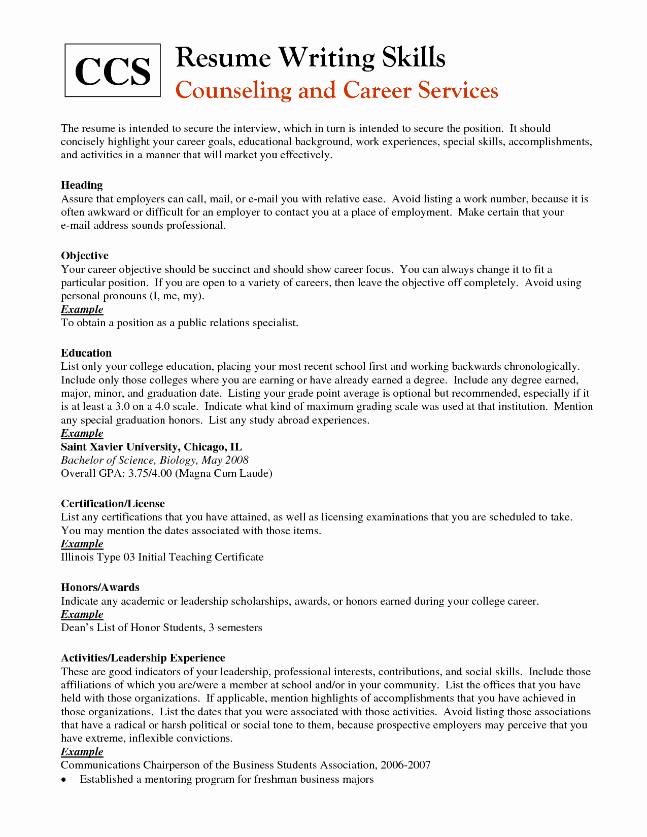 Skills You Can Put Resume Resume Ideas
