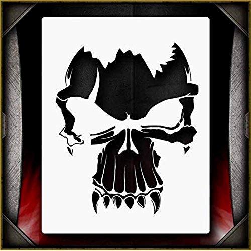 Skull Airbrush Stencils Amazon