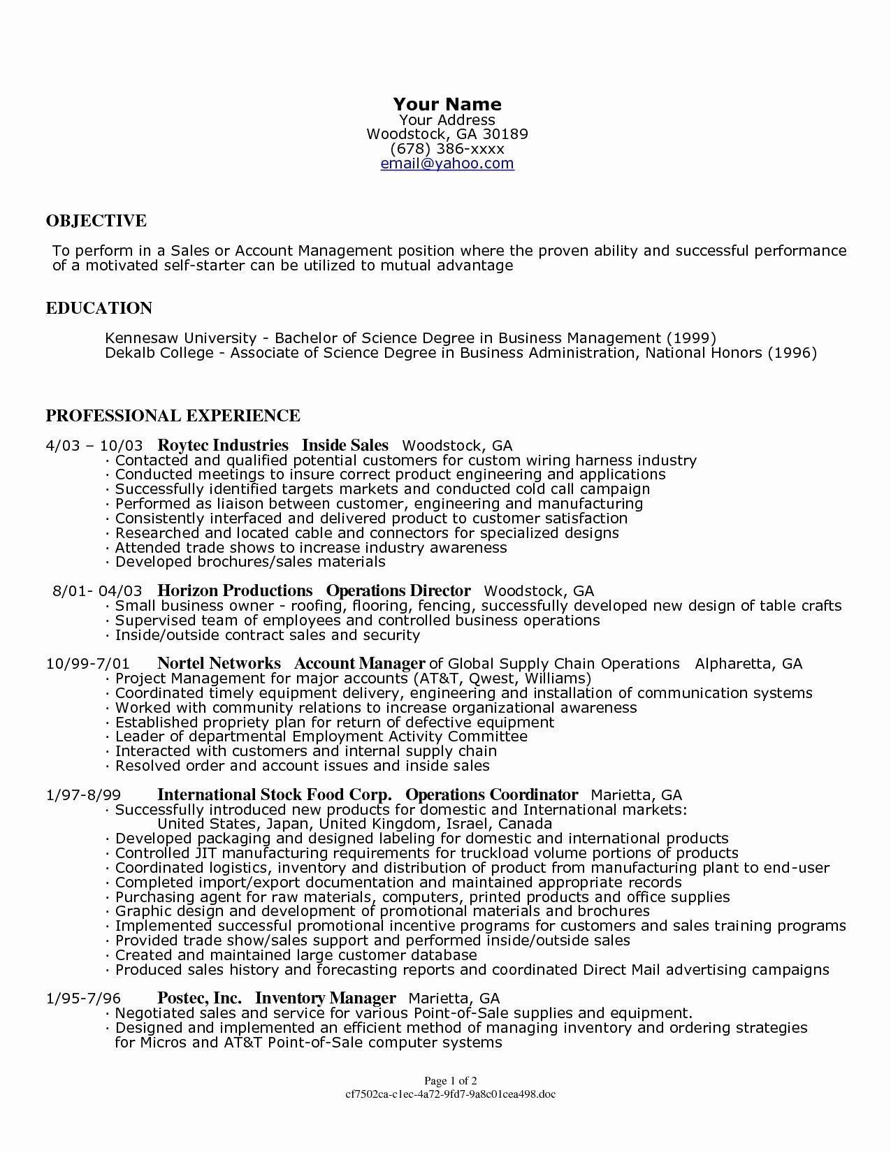 Small Business Owner Resume Job Description Bongdaao