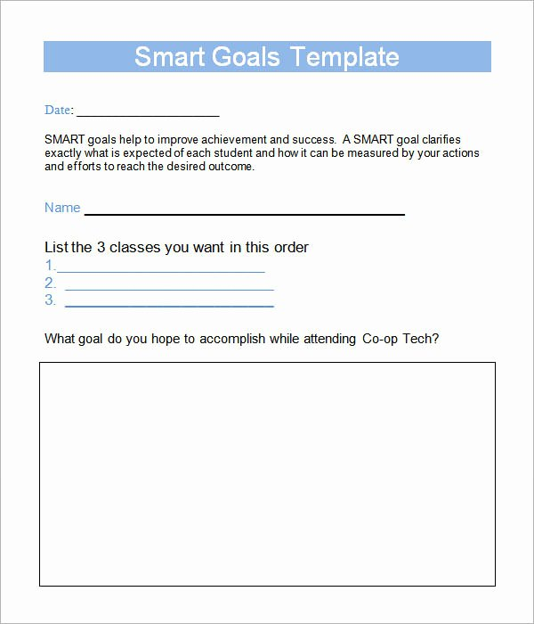 Smart Goals Template 15 Download Free Documents In Pdf