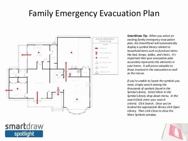 Smartdraw Spotlight Do You Have An Emergency Evacuation Plan