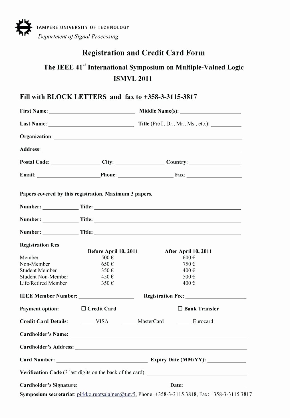 Raffle Entry form Template – Latter Example Template