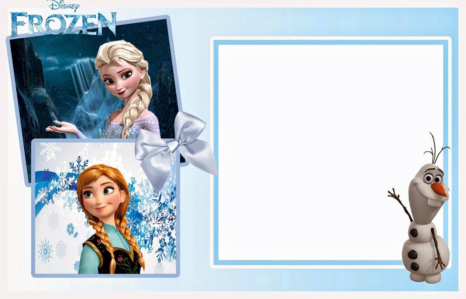 Frozen Invitation Templates Free Download