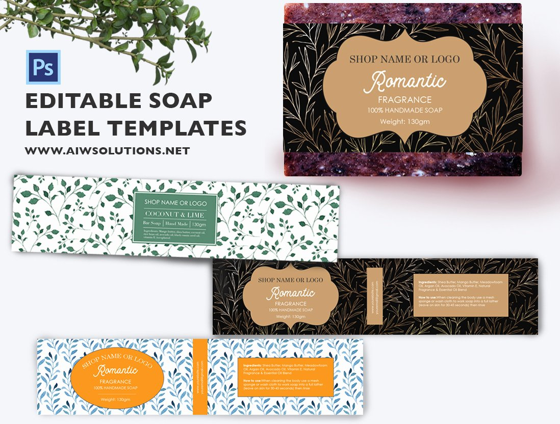 Soap Label Template Id49