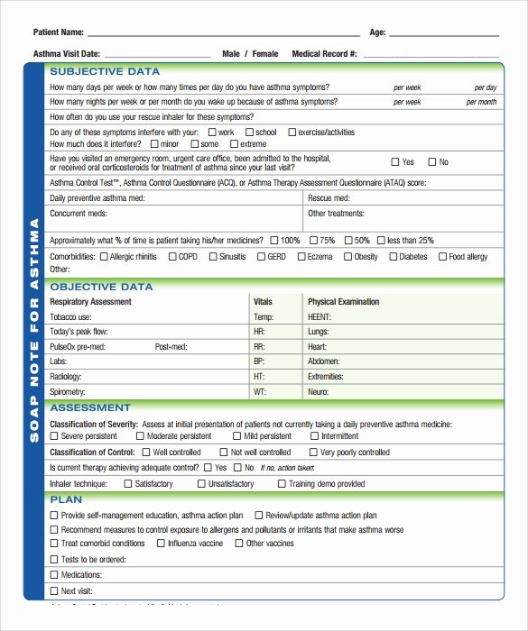 Soap Note Template 10 Download Free Documents In Pdf Word
