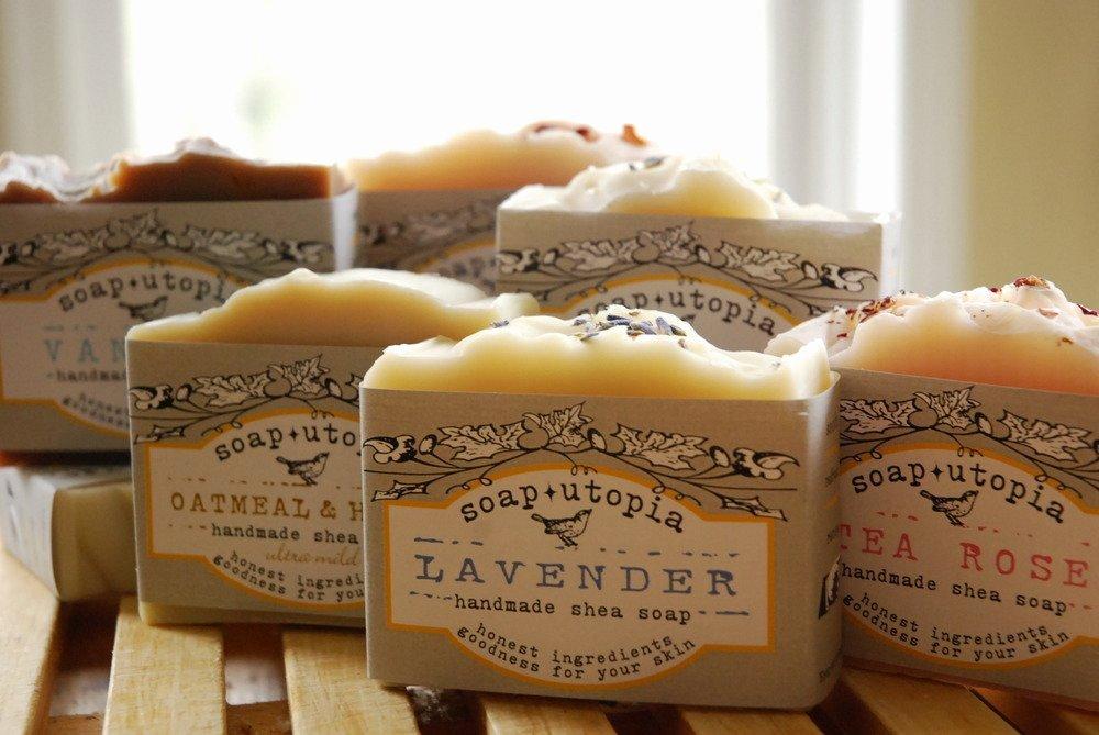 Soap Utopia — 10 Bars Of Handmade soap Free Shipping In