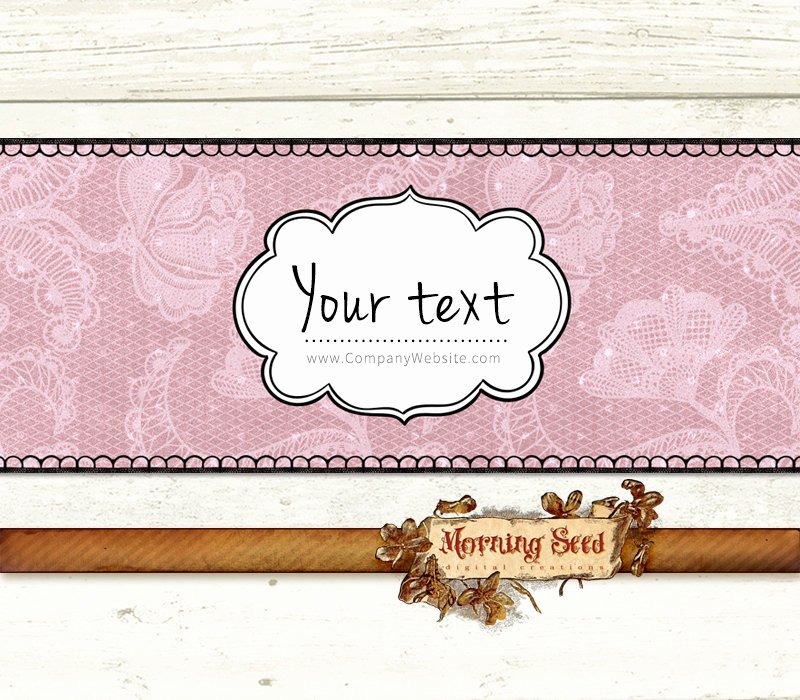 Soap Wrappers Editable soap Packaging 2 X 8 Inch Printable