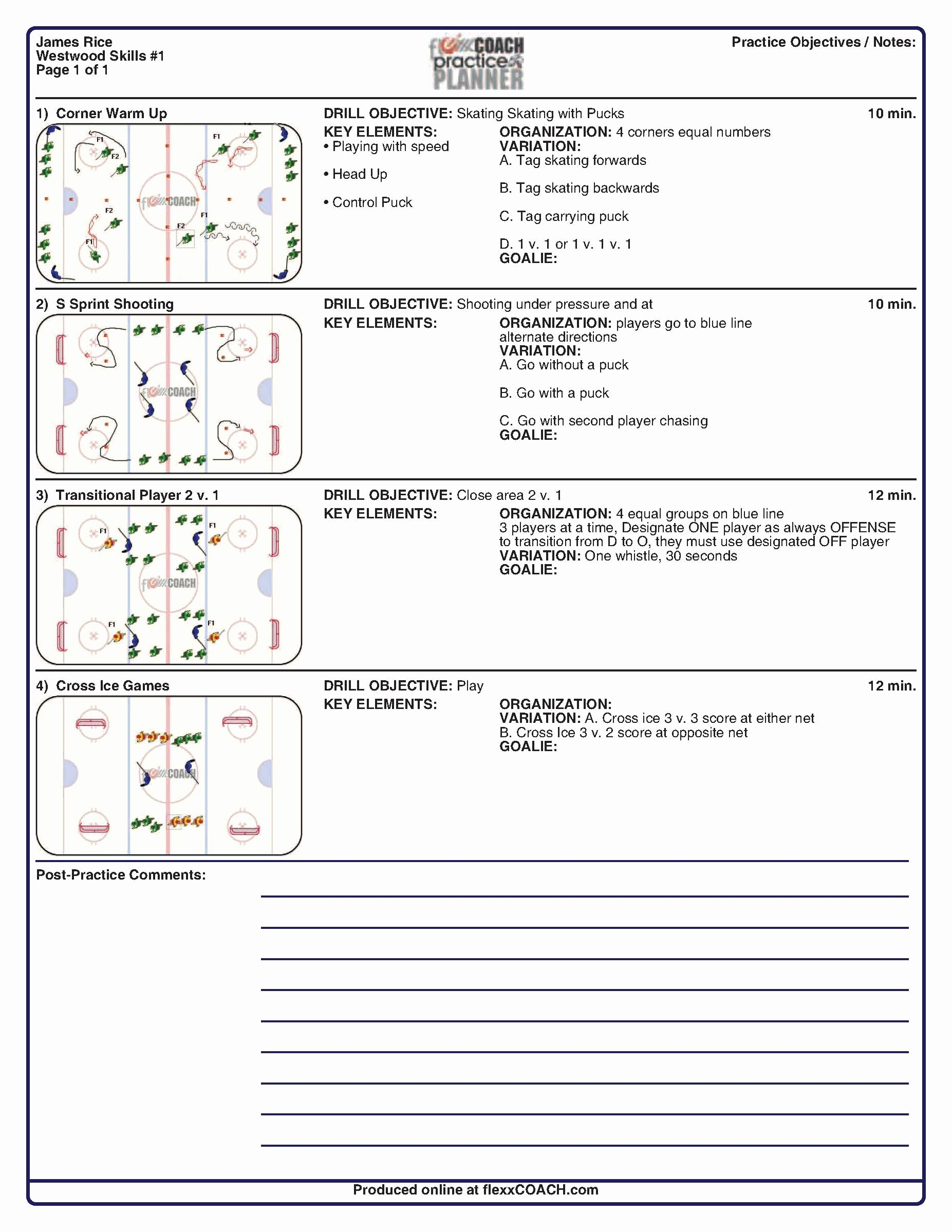 Soccer Practice Plan Template Related Keywords soccer