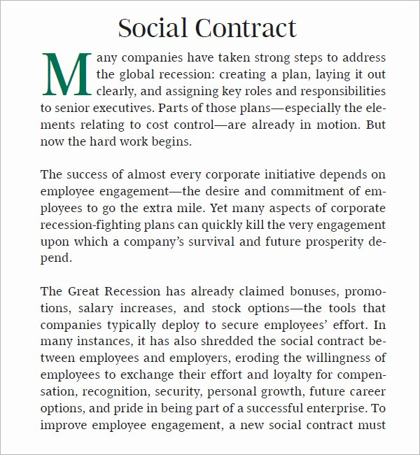 Social Contract 6 Free Pdf Download