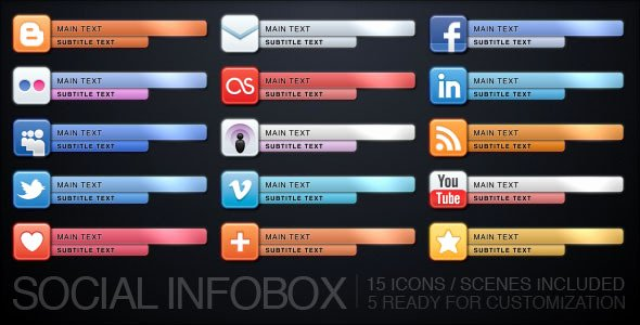 Social Infobox by Uniquefx