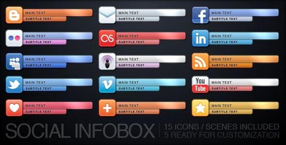 Social Infobox by Uniquefx