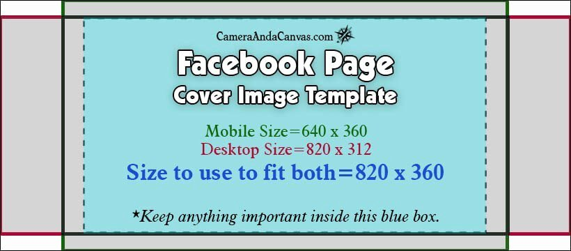 social media image sizes templates