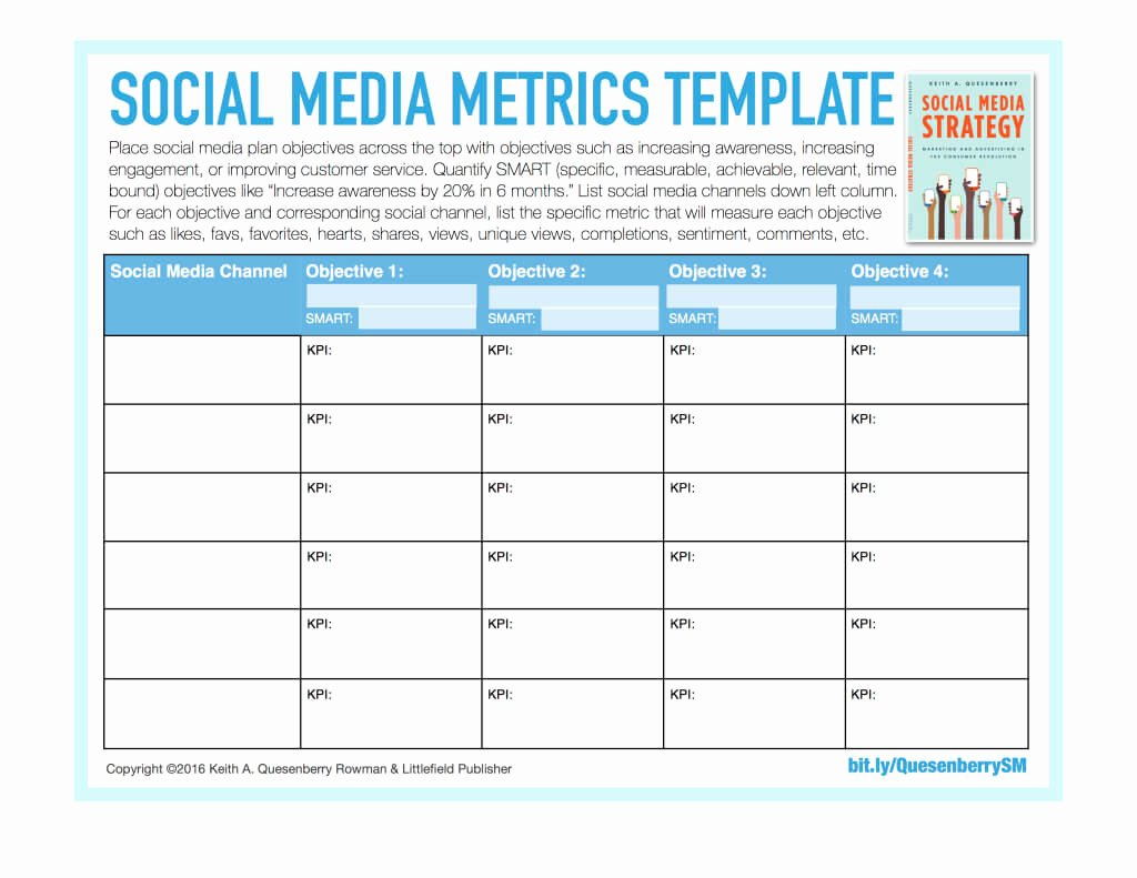 Social Media Marketing Plan Template Driverlayer Search