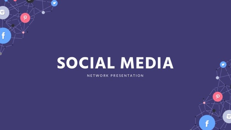 Social Media Powerpoint Template Free Powerpoint