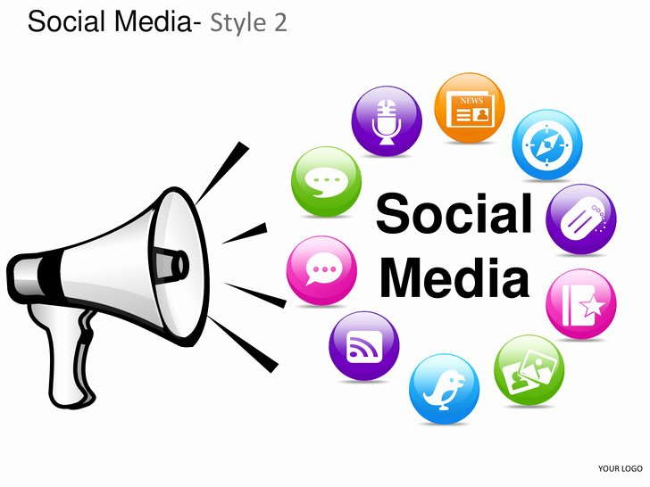 Social Media Style 2 Powerpoint Presentation Templates