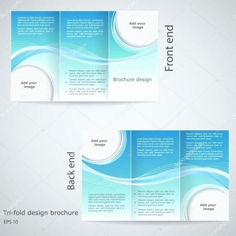 Software Brochure Template Google Docs Fold Best Idea