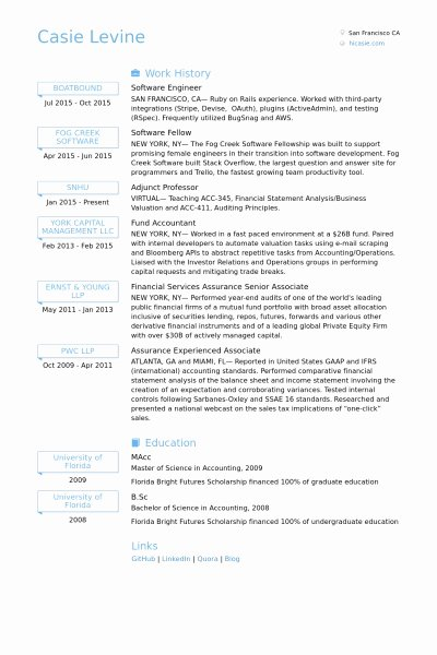Software Developer Resume Samples Best Resume Gallery