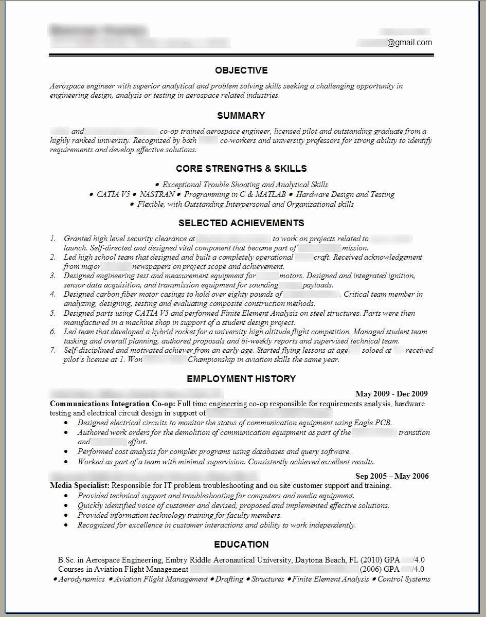 Software Engineer Resume Template Microsoft Word