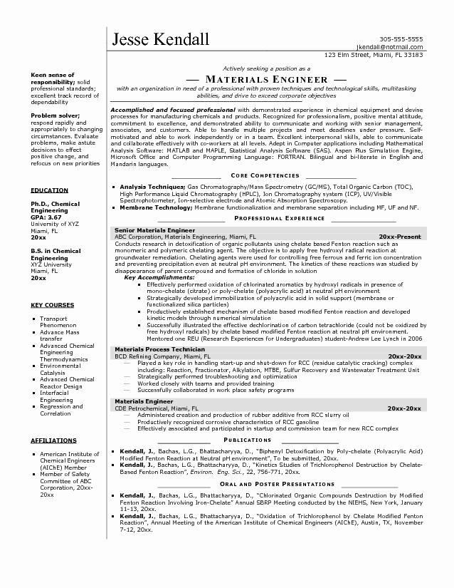 Software Engineer Resume Template Microsoft Word
