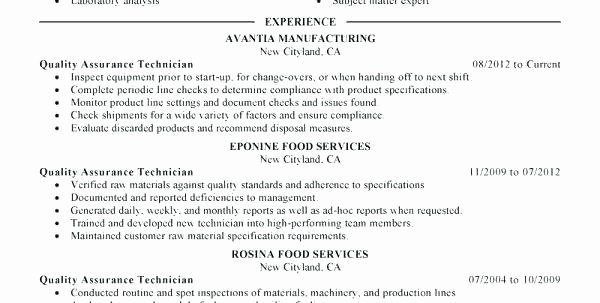 Software Quality assurance Resume Resume Template software
