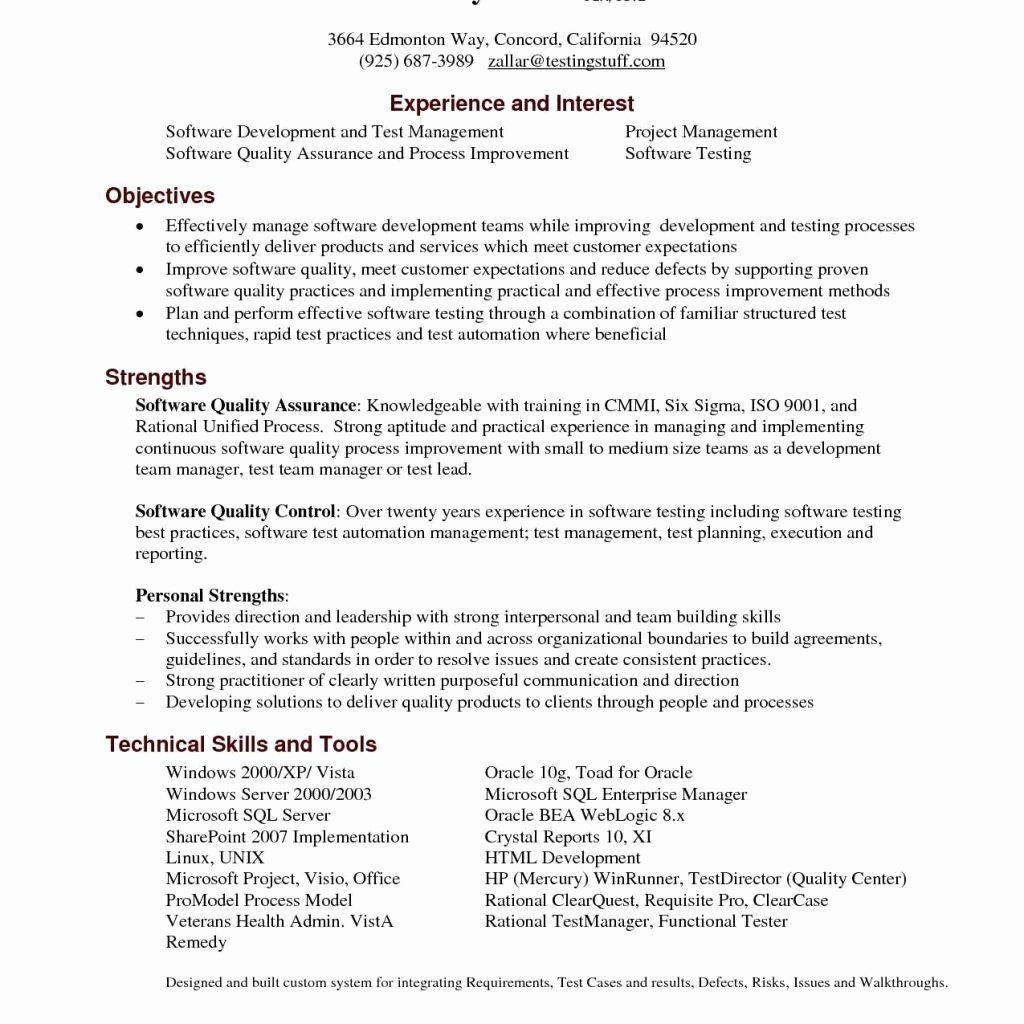 Quality assurance Cover Letter Samples – Latter Example Template