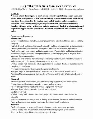 = software Testing Qa Resume