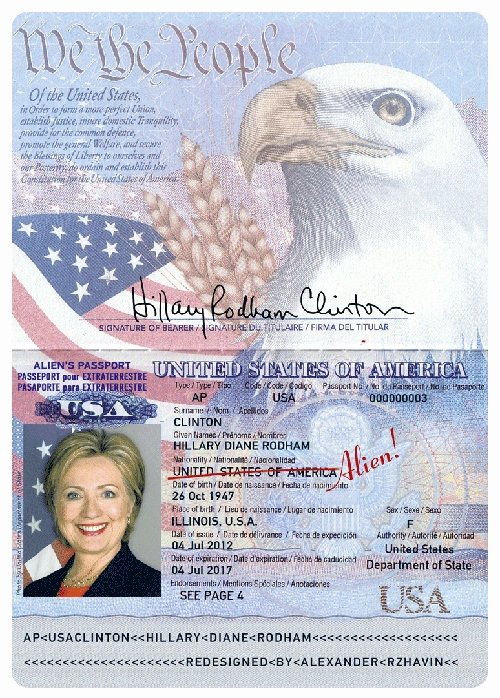 Some Americans Became Aliens U S Alien's Passports for
