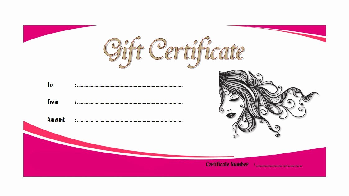 Spa Gift Certificate Template 1 – the Best Template Collection
