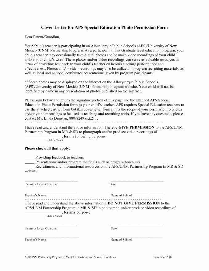 Special Education Teacher Cover Letter Latter Example Template