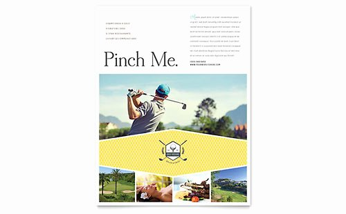 Sports & Fitness Flyer Templates Word & Publisher