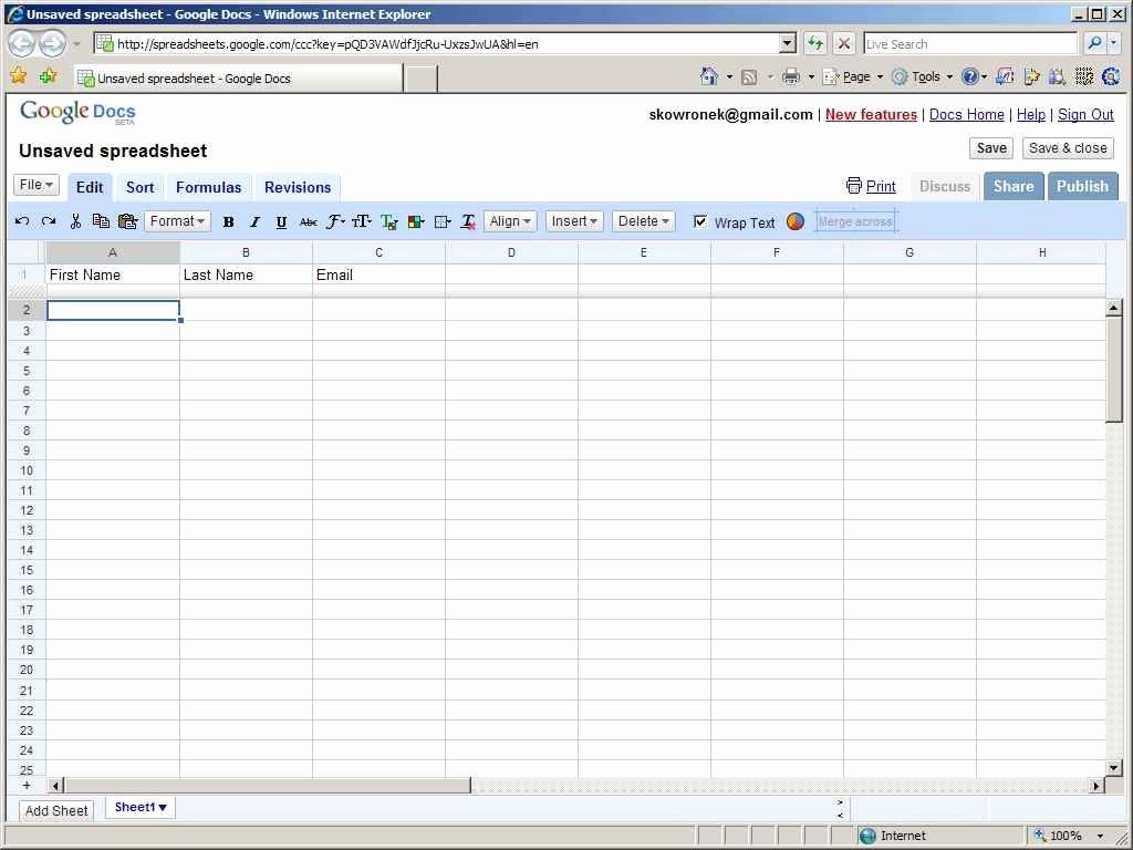 Spreadsheet Google Spreadsheet Templates for Business