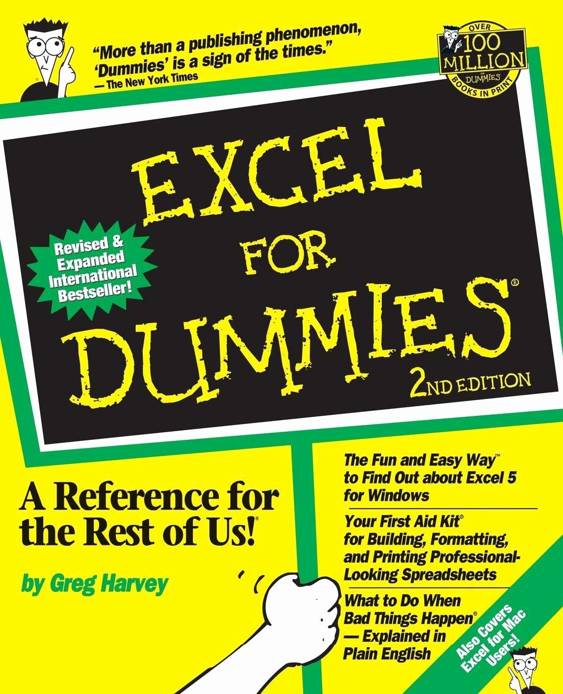 Spreadsheets for Dummies Sample Worksheets Excel formulas